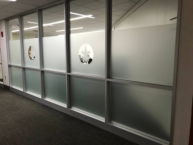 decorative privacy window film