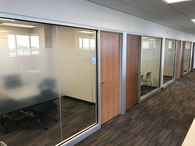 privacy window film for offices