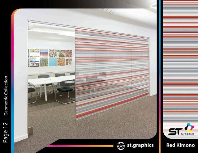 geometric decorative films