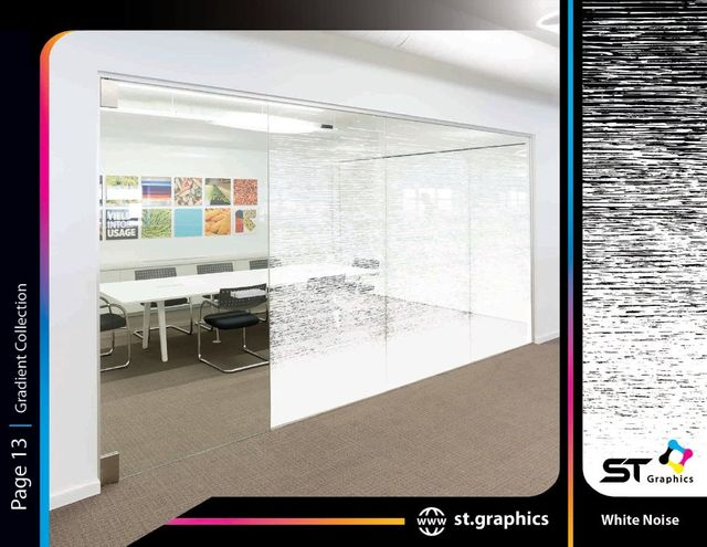gradient decorative window film