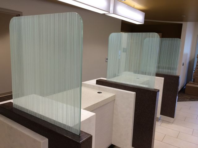 opaque glass dividers