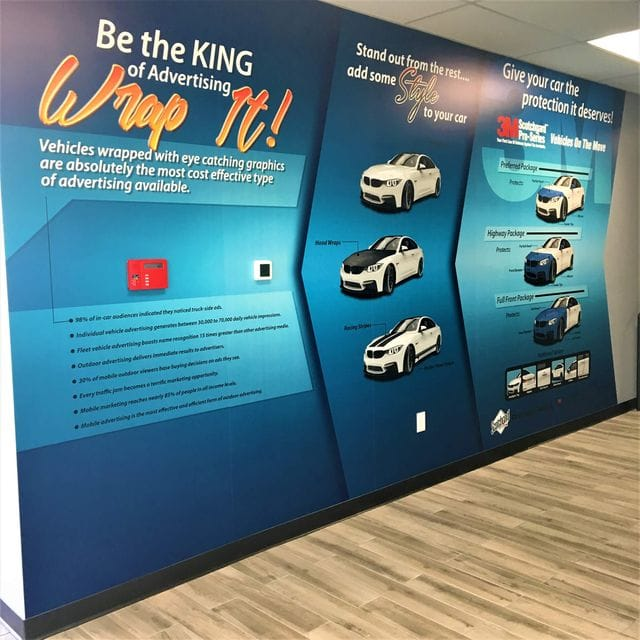 custom wall graphics for businesses