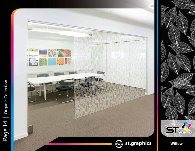 Organic Decorative Window Films ST Graphics