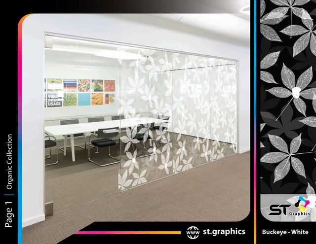 organic decorative window film