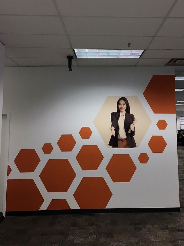custom wall graphics by ST Graphics